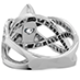 Intertwining Regal Diamond Engagement Ring view 4