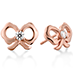Lorelei Bow Stud Earrings
