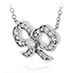Lorelei Diamond Bow Necklace view 2