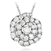 Lorelei Diamond Floral Pendant view 1