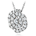 Lorelei Diamond Floral Pendant view 2