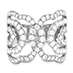 Lorelei Diamond Interlocking Ring view 1