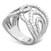 Lorelei Diamond Interlocking Ring view 2