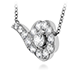 Lorelei Diamond Necklace view 2