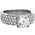 Lorelei Dream Pave Engagement Ring view 3