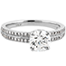 Lorelei Engagement Ring-Diamond Band view 3