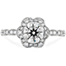 Lorelei Floral Engagement Ring view 1