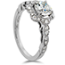 Lorelei Floral Engagement Ring view 3
