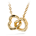 Lorelei Interlocking Heart Necklace view 1