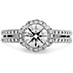 Optima Double Row Engagement Ring view 1