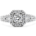 Repertoire Select Dream Split Shank Engagement Ring view 1