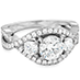 Significance Three Stone Diamond Engagement Ring view 3