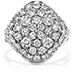 Silk Pave Large Diamond Shape Right Hand Ring view 1