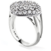 Silk Pave Large Diamond Shape Right Hand Ring view 2