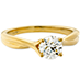 Simply Bridal Twist Solitaire Engagement Ring view 3