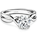 Timeless Solitaire Engagement Ring view 3