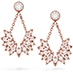 White Kites Bird Earrings view 1