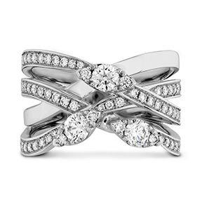 Aerial Diamond Right Hand Ring