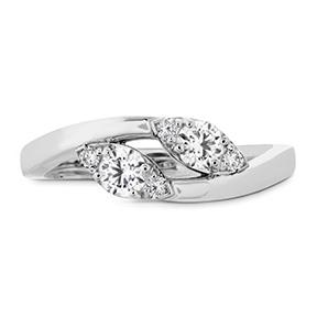 shop diamond rings hearts on fire