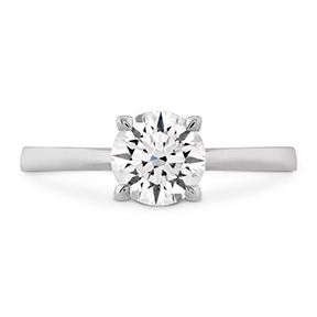 HOF Signature Solitaire Engagement Ring
