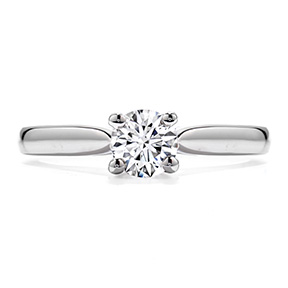 Shop Diamond Engagement Rings Hearts On Fire