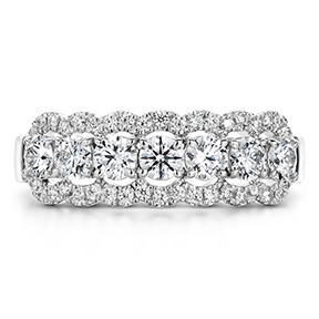 Aurora Seven Diamond Band