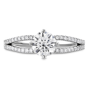Brielle Split Shank Engagement Ring