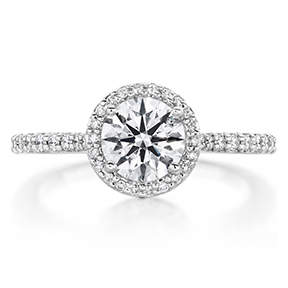 Camilla Halo Diamond Engagment Ring