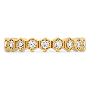 HOF Hex Diamond Eternity Band