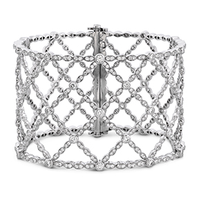 Lorelei Lattice Diamond Intensive Bangle