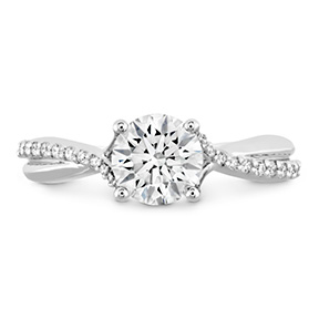 Simply Bridal Diamond Twist Semi Mount