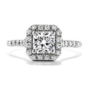 efc20788ffd67 The World's Most Perfectly Cut Diamond | Hearts On Fire