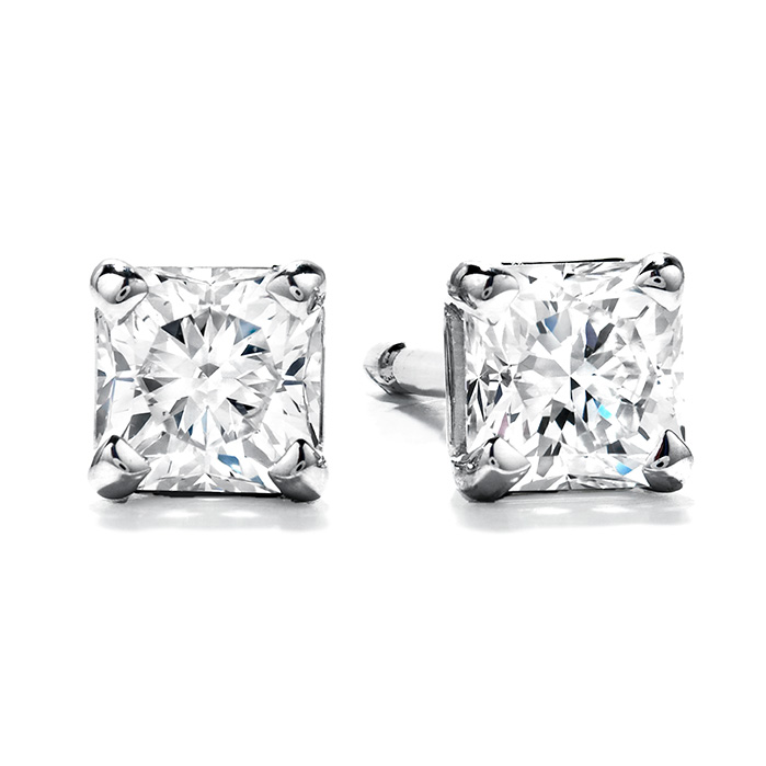0.6 ctw. Studs - Four-Prong Dream in 18K White Gold