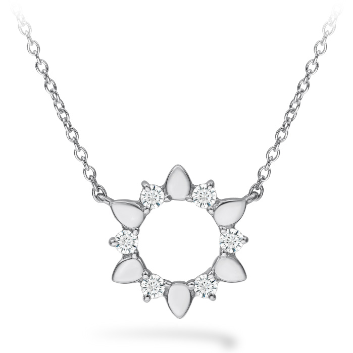 0.15 ctw. Aerial Eclipse Mini Pendant in 18K White Gold