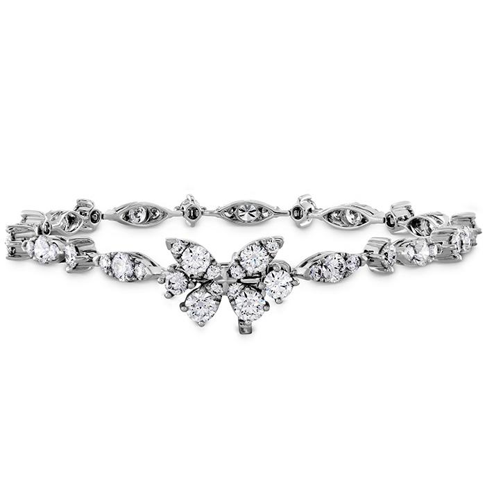 4.6 ctw. Aerial Diamond Line Bracelet in 18K White Gold