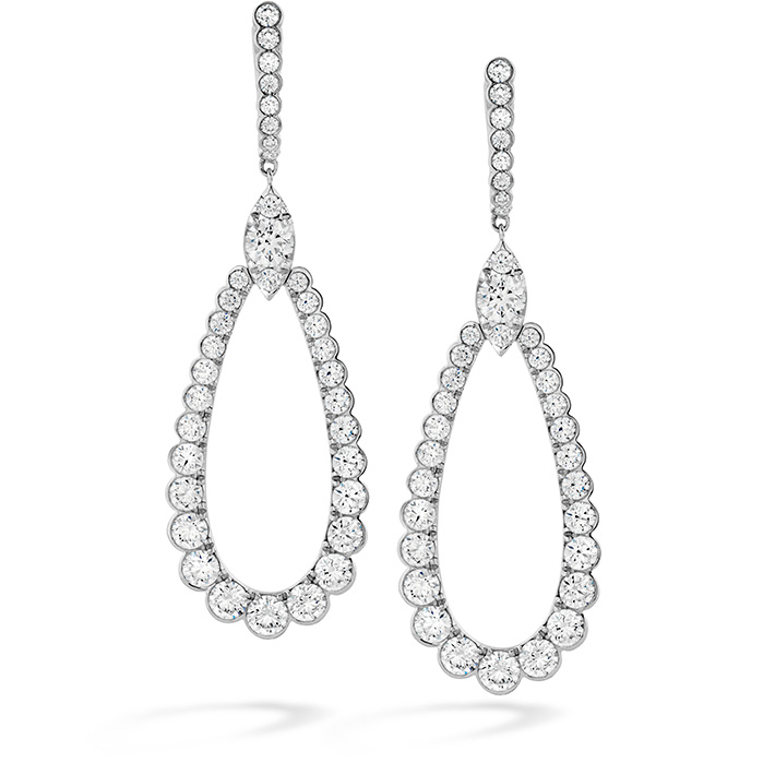 5 ctw. Aerial Regal Drop Earrings in 18K Yellow Gold