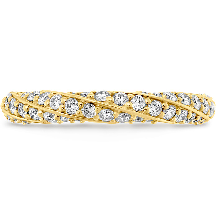 0.5 ctw. Atlantico Pave Band in 18K Yellow Gold