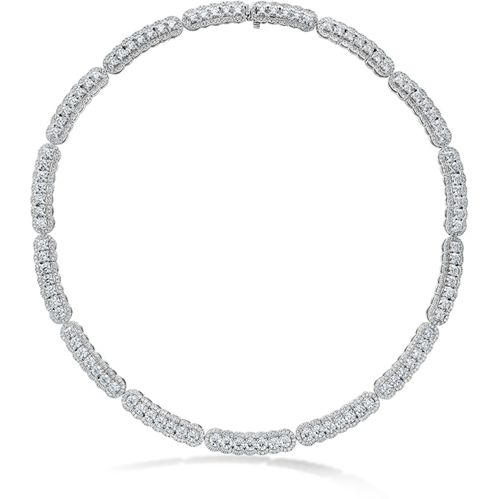 20.21 ctw. Aurora Line Necklace in Platinum