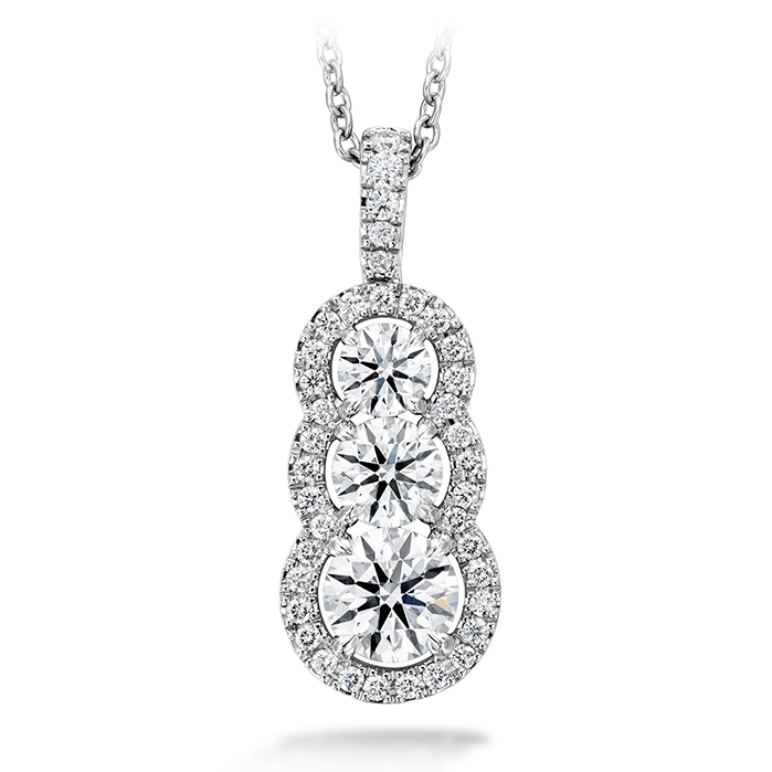 1.07 ctw. Aurora Pendant - Large in Platinum