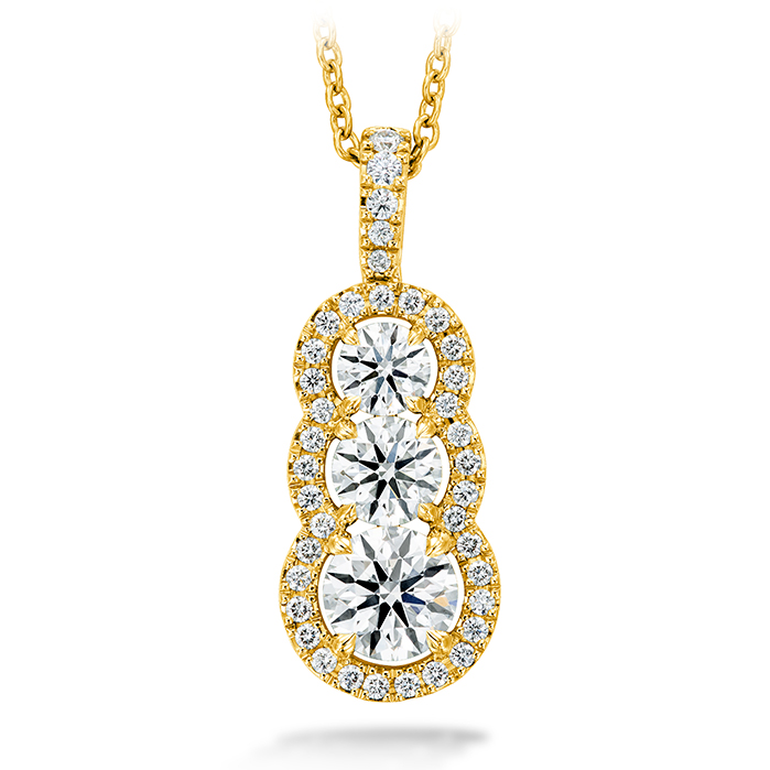 1.07 ctw. Aurora Pendant - Large in 18K Yellow Gold