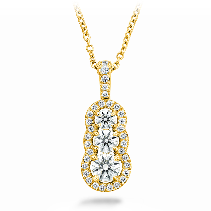 0.77 ctw. Aurora Pendant - Small in 18K Yellow Gold