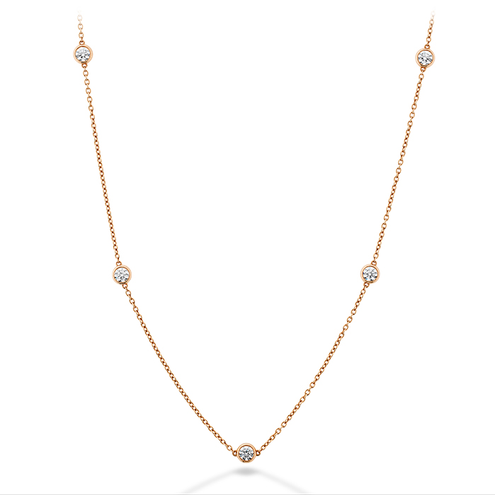 0.23 ctw. Signature Bezels By The Yard 5 Stone in 18K Rose Gold