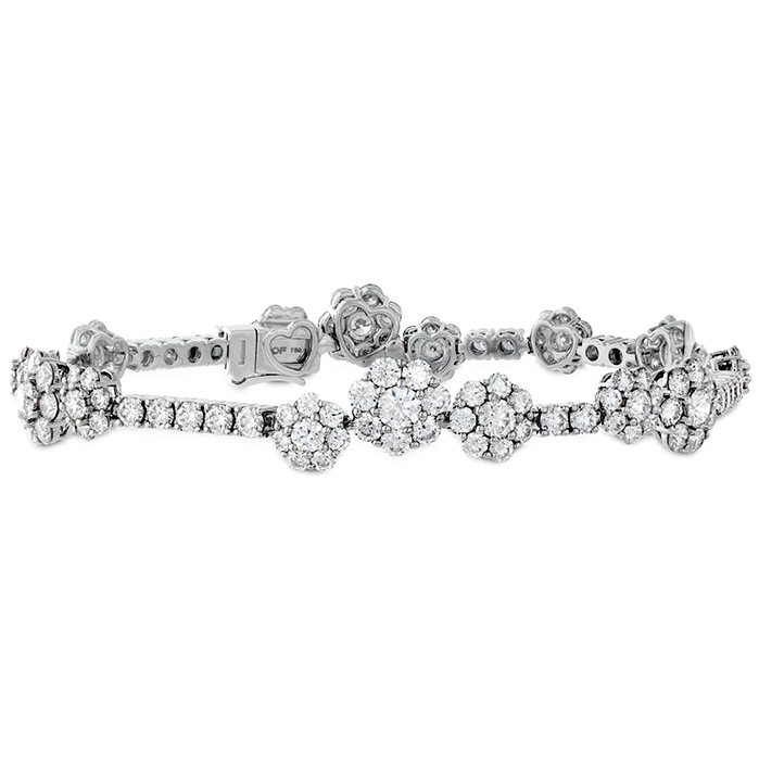 8.1 ctw. Beloved Bracelet in 18K White Gold
