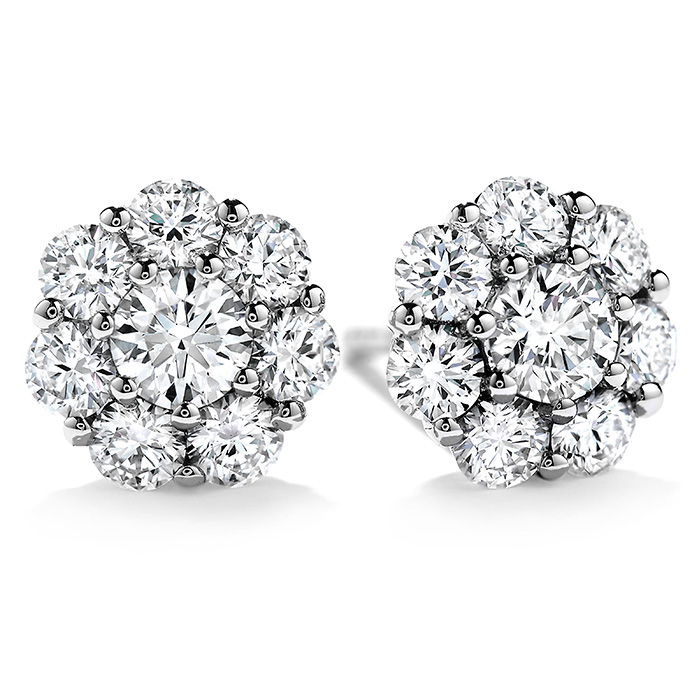 0.45 ctw. Beloved Stud Earrings in 18K White Gold