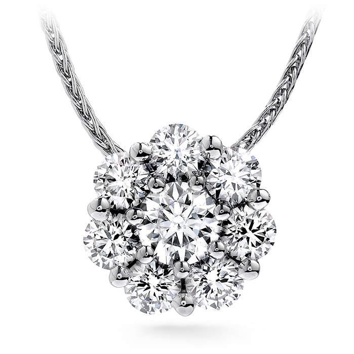 0.2 ctw. Beloved Pendant Necklace in 18K White Gold