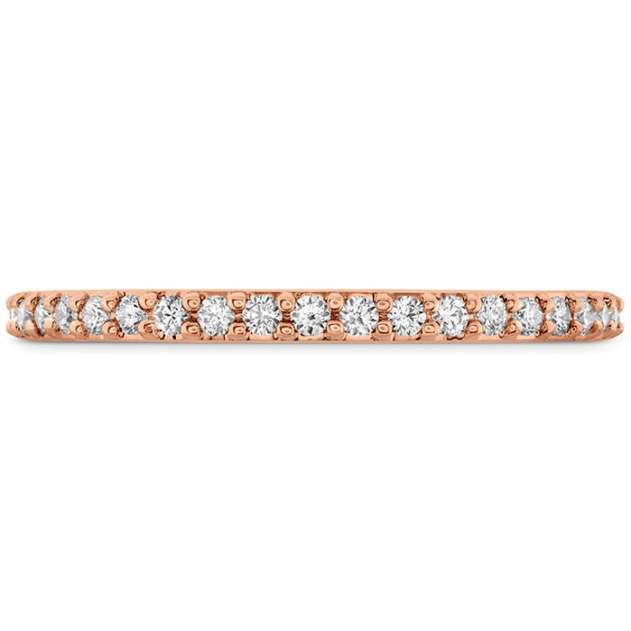 0.18 ctw. Camilla Diamond Band in 18K Rose Gold