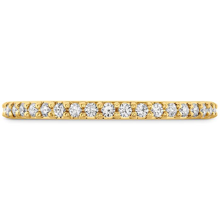 0.18 ctw. Camilla Diamond Band in 18K Yellow Gold