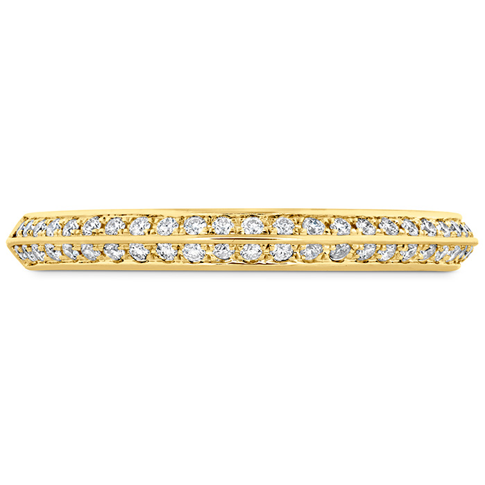 0.18 ctw. Camilla Pave Knife Edge Band in 18K Yellow Gold