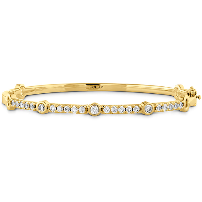 1.1 ctw. Copley Diamond Bracelet in 18K Yellow Gold