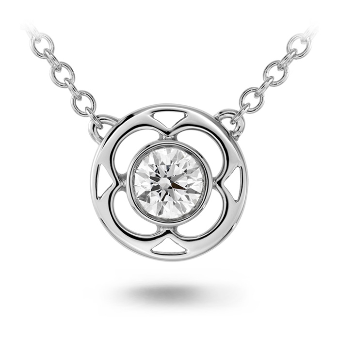 0.15 ctw. Copley Single Diamond Pendant in 18K Rose Gold